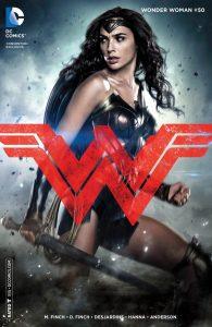 Wonder Woman #50, copertina variant Batman v Superman