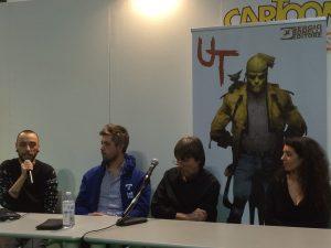 Cartoomics 2016 - Corrado Roi e Paola Barbato presentano UT