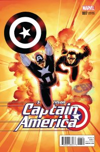 Captain America: Sam Wilson #7, variant cover di John Cassaday
