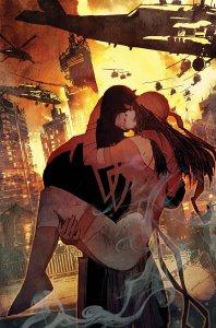 Daredevil #7, copertina di Bill Sienkiewicz