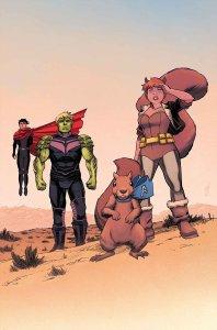 New Avengers #11, copertina di Declan Shalvey