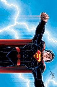 Superman #51, copertina variant di Jonh Romita Jr.