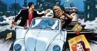 Etna Comics 2016: Dylan Dog, Chewbacca e Harley Quinn sul manifesto di Claudio Villa