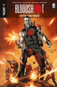 Bloodshot vol. 5: Sotto a chi tocca!, copertina di Lewis LaRosa