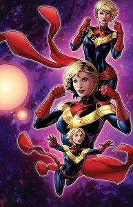 Captain Marvel #3, variant cover di Emanuela Lupacchino