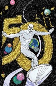 Silver Surfer #3, copertina di Mike Allred