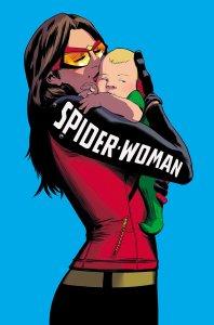 Spider-Woman #5, copertina di Javier Rodriguez