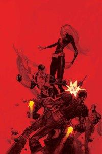 Hail Hydra #4, copertina di Andrew Robinson