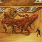 Devil Dinosaur contro il Rancor