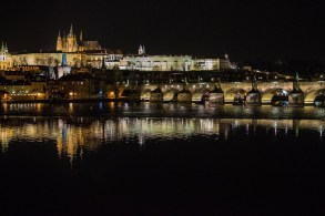 prague castle and charles bridge - fran