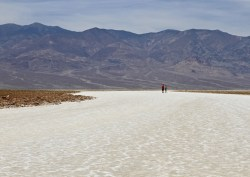 Ken Apsey - Alone on the salt flats