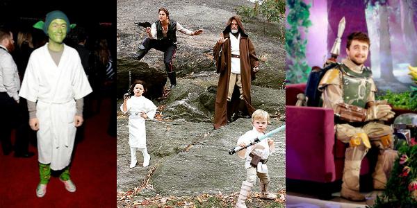 Banner Cosplay Star Wars Celebrità