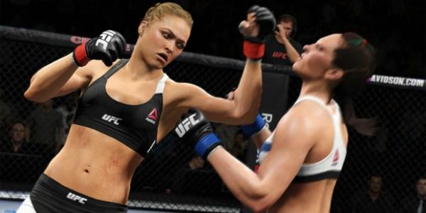 EA Sports UFC 2 megaslide