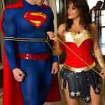 Superman vs Batman Cosplay