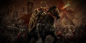 Total War: Warhammer Caos banner