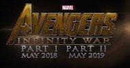 Avengers: Infinity War, un aggiornamento sui titoli dei due film