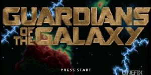 Guardiani della galassia 8 bit