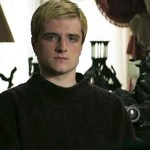 Peeta e il presidente Snow in una scena tagliata di Hunger Games: Il Canto della Rivolta – Parte 1