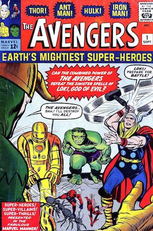 avengers fumetto