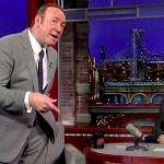 Kevin Spacey imita Jack Lemmon e Johnny Carson da David Letterman