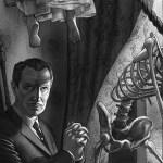 Vincent Price nel poster Mondo di La Casa dei Fantasmi