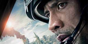 Dwayne Johnson san andreas banner