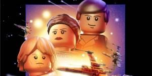 Star Wars LEGO Banner