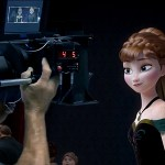 Frozen: cineprese e green screen in una serie di peculiari foto dal retroscena