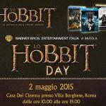 Il 2 maggio a Roma sarà Lo Hobbit Day!