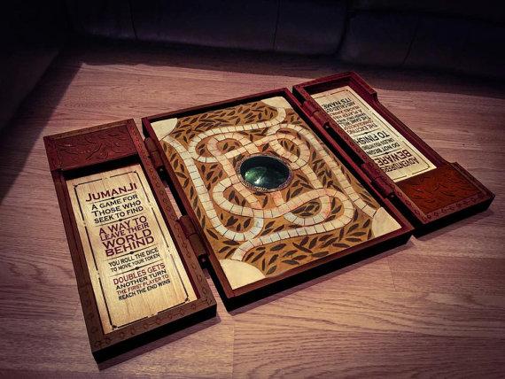 Il gioco da tavolo di jumanji acquistabile su etsy - Jumanji gioco da tavolo ...
