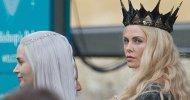 The Huntsman: Charlize Theron e Emily Blunt sul set dello spin-off di Biancaneve e il Cacciatore