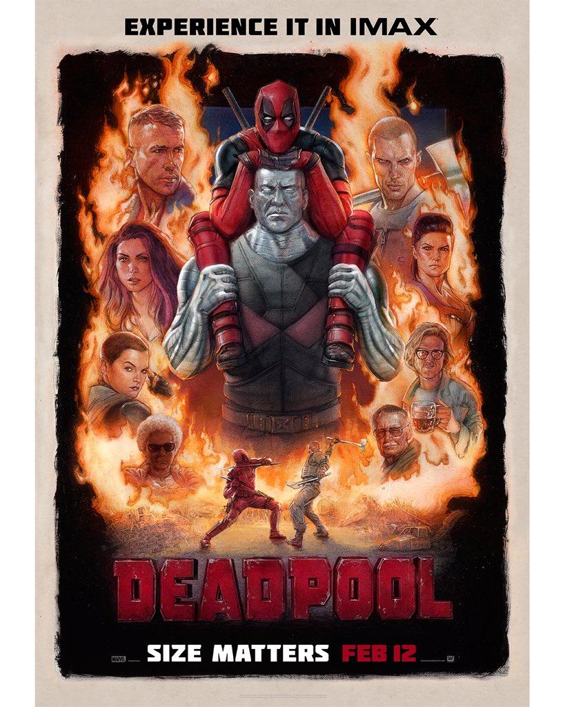 Deadpool: nuovo trailer e poster IMAX del film