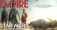I giovani protagonisti di Star Wars: il Risveglio della Forza nella seconda cover di Empire!