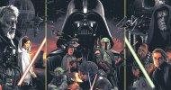 Star Wars: la trilogia classica racchiusa in un poster firmato da Grzegorz Domaradzki