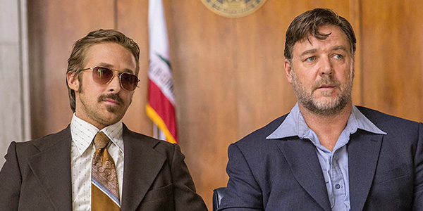 The Nice Guys Russell Crowe Ryan Gosling