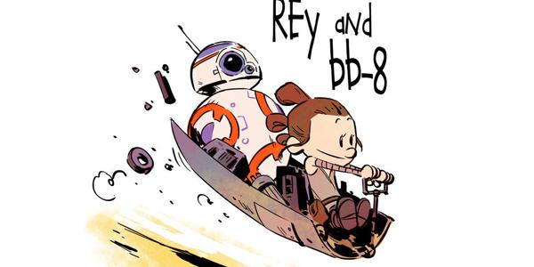 Calvin & Hobbes star wars