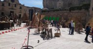 Foto dal set a Matera | Wonder Woman