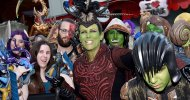 "Warcraft – L'Inizio: Jamie Lee Curtis con un look ""orchesco"" alla premiere del film"