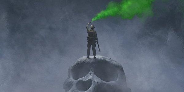 SDCC: primo poster di Kong - Skull Island