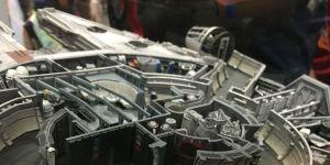 Millennium Falcon QMx modellino