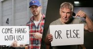 Blade Runner 2: Ryan Gosling e Harrison Ford invitano i fan sul set del film