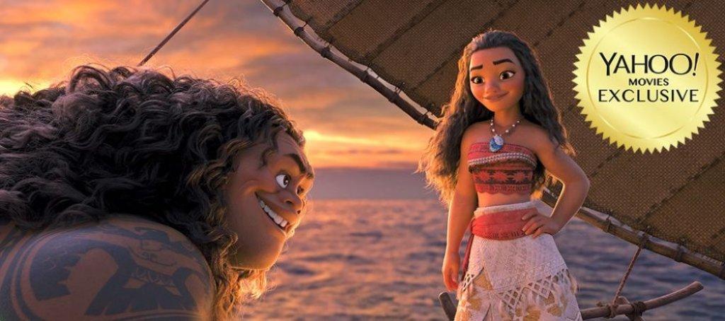Oceania vaiana e maui in una nuova immagine del film - La finestra di fronte film completo ...