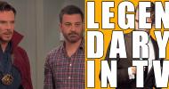 Jimmy Kimmel assume Doctor Strange (Benedict Cumberbatch) per una festa per bambini!