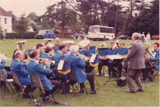 Playing earlier that year at Bearsted near Maidstone, Kent.