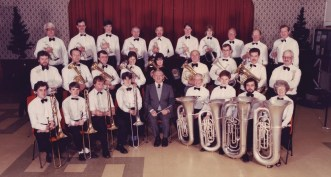 GEC Avionics Brass Band in 1986
