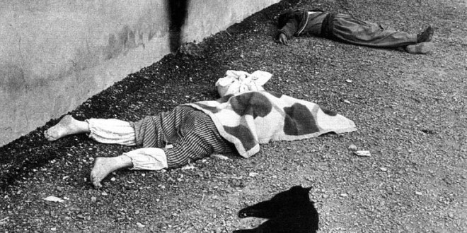 Victim of Saddam's infamous March 1988 gassing of Halabja. / Sayeed Janbozorgi