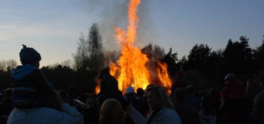 Valborgsbrasa i Skarpnäck 2009