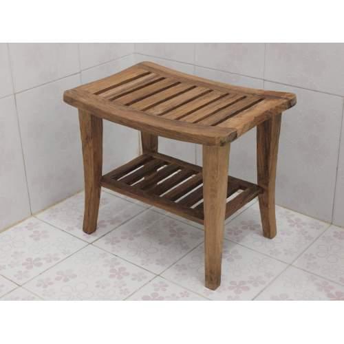 Medium Crop Of Teak Shower Bench