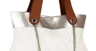 Yelloe White Bag