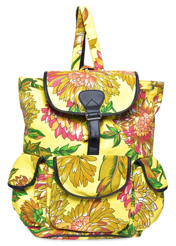 Limeroad Yellow Backpack